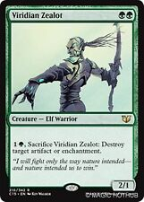 VIRIDIAN ZEALOT Commander 2015 MTG Green Creature — Elf Warrior Rare