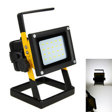 Waterproof Rechargeable 30W 20LED Flood Light Spot Work Lamp Torch Outdoor 18650