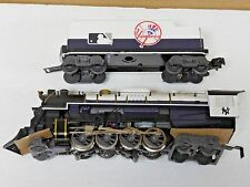 NEW LIONEL O GAUGE NEW YORK YANKEES BERKSHIRE ENGINE & TENDER 7-12000