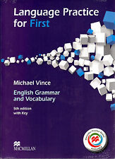 Macmillan LANGUAGE PRACTICE FOR FIRST FCE w Key & Online Practice 5th Edit @NEW@