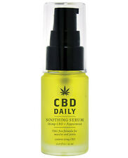 CBD Daily Soothing Serum Hemp THC Free Essential Oil Muscle Joint Pain Relief