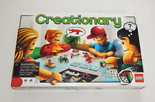 LEGO CREATIONARY Game Building Set # 3844  R11329