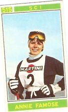 Figurina Campioni dello Sport Panini 1967-68 n.515! Annie Famose Sci! Nuova!!
