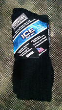 Covert Threads ICE Cold Weather Military Socks-ALL SIZES-Black-Fol-Coyote-Sand