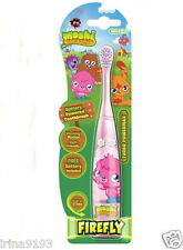 Moshi Monsters Kids Girl Battery Powered Turbo Powermax Toothbrush Pink New