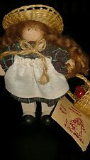 Lizzie High dolls  The Little Ones DOLL APPLE PICKING SIGNED TAG
