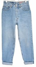 Vintage Levis 901 High Waisted MOM Blue SLIM TAPERED Jeans SIze 10 W28 L30
