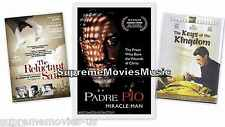 NEW - 3 DVD's Padre Pio / The Reluctant Saint / The Keys Of The Kingdom DVD NEW