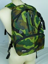 Genuine Nikon NEW DSLR Camera Backpack Army Digital Marine USA D810 D500 Body