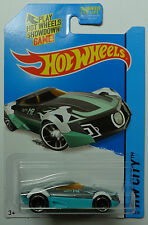 2014 Hot Wheels HW CITY MR11 15/250 (Silver/Teal Version)