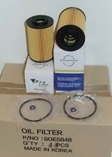4 Engine Oil Filter SOE5848 Made in Korea Fits: HYUNDAI & KIA