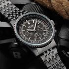 MEGIR SS2008GBK-1 Quartz Watches Men Strap Waterproof Wristwatch