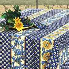 "Provence Teflon coated tablecloth 59x98"" (150x250cm) rectangular Vent du Sud"