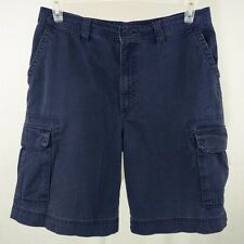 High Sierra Cargo Shorts Flat Front Hiking Camping Blue Mens Size 33 EUC