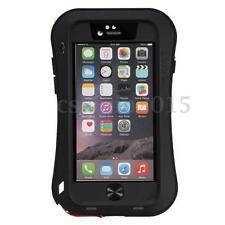 Love Mei für iPhone 5C Stabiles  spritz Wasserdicht Metallgehäuse Schutz schwarz