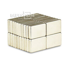 Lots 100pcs Strong Block Magnets 15mm x 10mm x 3mm Rare Earth Neodymium N35
