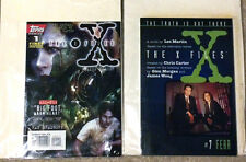 The X-Files Official Digest Lot #1 #7 David Duchovny Gillian Anderson 1995 Novel