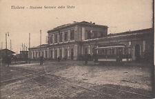 Modena  - Stazione ferrovie dello stato - 1918
