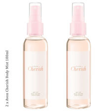 2 x Avon Cherish Body Mist Spritz // Fragrance Body Spray 100ml (RRP £7)