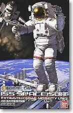 ISS Space suit Extravehicular Mobility Unit 1/10 scale model kit Bandai
