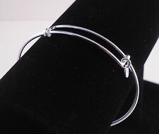 ITALY 925 STERLING SILVER EXPANDABLE BRACELET ADD YOUR OWN CHARMS TO PERSONALIZE