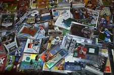 AWESOME FOOTBALL AUTO, GAME USED & INSERT ROOKIE CARD COLLECTION!!! MUST SEE!!!