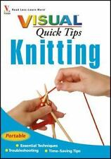 Visual Quick Tips: Knitting 1 by Sharon Turner (2007, Paperback)