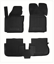 VW CADDY 2004-2014 Rubber Car Floor Mats All Weather Alfombras Goma Carmats