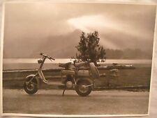 FOTOGRAFIA - FOTO - LAMBRETTA 125 C - ANNO 1950 - Originale