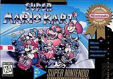 ***SUPER MARIO KART SNES SUPER NINTENDO GAME COSMETIC WEAR~~~