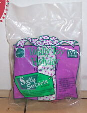 1993 McDonalds Totally Toy Holiday - Sally Secret Happy Meal Toy MIP