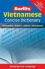 Vietnamese Concise Dictionary (Berlitz Concise Dictionary) (English and Vietname