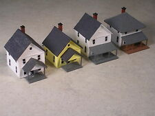 Z Scale Custom Built Block of Houses