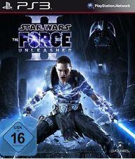 Playstation 3 STAR WARS THE FORCE UNLEASHED II 2 DEUTSCH Gebraucht Sehr guter Zu
