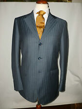 MENS W & F BIRD ITALIAN  STRIPED BOATING BLAZER/ JACKET   SIZE UK 38 LONG