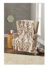 "Better Homes & Gardens Oversized Plush Throw ""Holiday Damask"" Christmas  Blanket"
