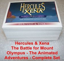 HERCULES & XENA The Battle for Mount Olympus -  Animated       Complete BASE SET