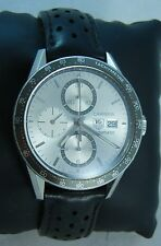 Tag Heuer Carrera Chronograph Mens Watch Automatic Chronograph AS IS 02-21