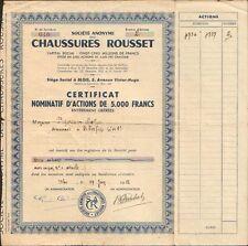 CHAUSSURES ROUSSET (BLOIS LOIRE-ET-CHER 41) (N)
