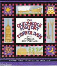 Quilt Block History of Pioneer Days by Mary Cobb - Quilt Pattern Book Applique