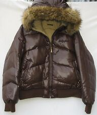 Baby Phat reversible 2 pocket zip front down/feathers blend hooded jacket 2XL