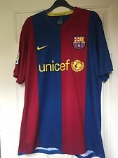 Mens Messi Barcelona no.19 Nike football shirt 2006/07 size L