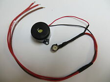Indicator Buzzer,Flasher buzzer for 12 Volt MOTORHOMES! Adjustable volume