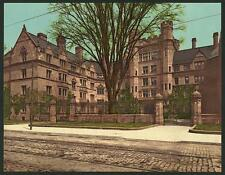 Vanderbilt Hall Yale College A4 Photo Print