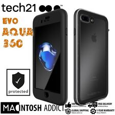 Tech21 Evo Aqua 360 Rugged IP68 3M Waterproof Case For iPhone 7 PLUS BLACK