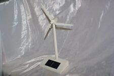 Mini aerogeneratore eolico modellino con pannello solare per arredo ufficio pale