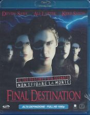Blu-ray **FINAL DESTINATION** nuovo 2000