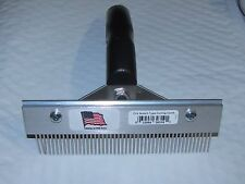 Decker FUR COMB grooming dog cat horse pets NEW  MADE IN THE USA.