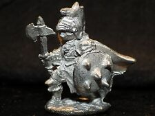 Citadel FTF-40 CHAOS FIGHTER Miniature Pre slotta Dungeons Dragons Metal Axe DD