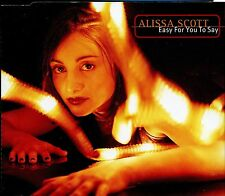 Alissa Scott / Easy For You To Say - Pre Release Promo